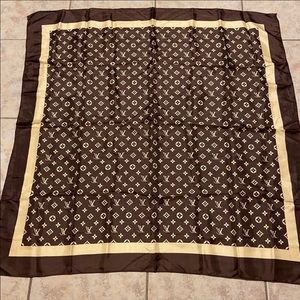 Authentic LV scarf 35 inches